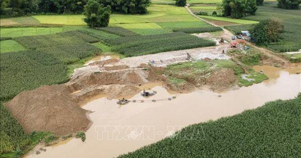 Khai thác khoáng sản trái phép ở Điện Biên diễn biến phức tạp, gây thất thu ngân sách