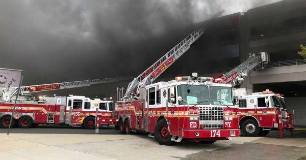 Mỹ: Xác định được nghi phạm vụ cháy bãi xe ở Brooklyn