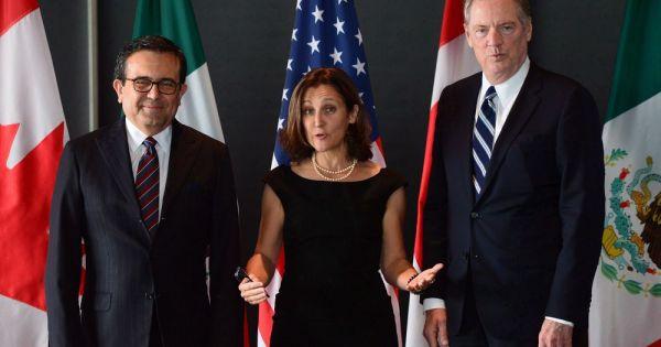 Mỹ và Canada bàn thảo về NAFTA tại Liên Hợp Quốc
