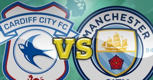 Đè bẹp tân binh Cardiff, Man City áp sát ngôi đầu