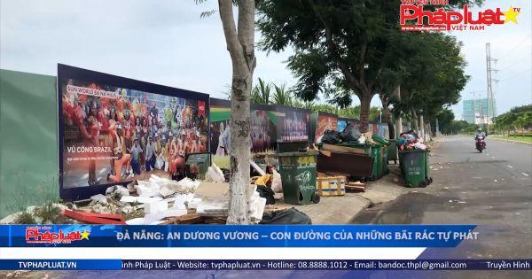 Đà Nẵng: An Dương Vương - Con đường của những bãi rác tự phát