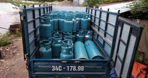 """Triệt phá trạm chiết gas lậu """"khủng"""" nằm giữa thành phố Hải Dương"""