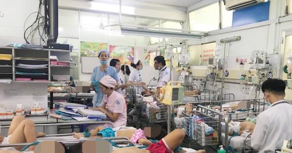 TPHCM: 1 giờ có ít nhất 7 ca tay chân miệng đến nhập viện