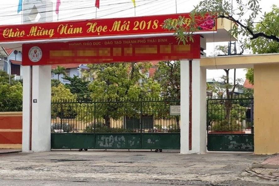 Bắt Phó Phòng Cảnh sát Kinh tế tỉnh Thái Bình để điều tra hành vi dâm ô nữ sinh