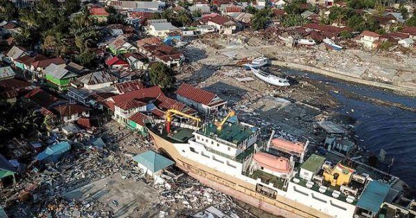 Thảm họa kép tại Indonesia: Số nạn nhân thiệt mạng gần 1.600 người