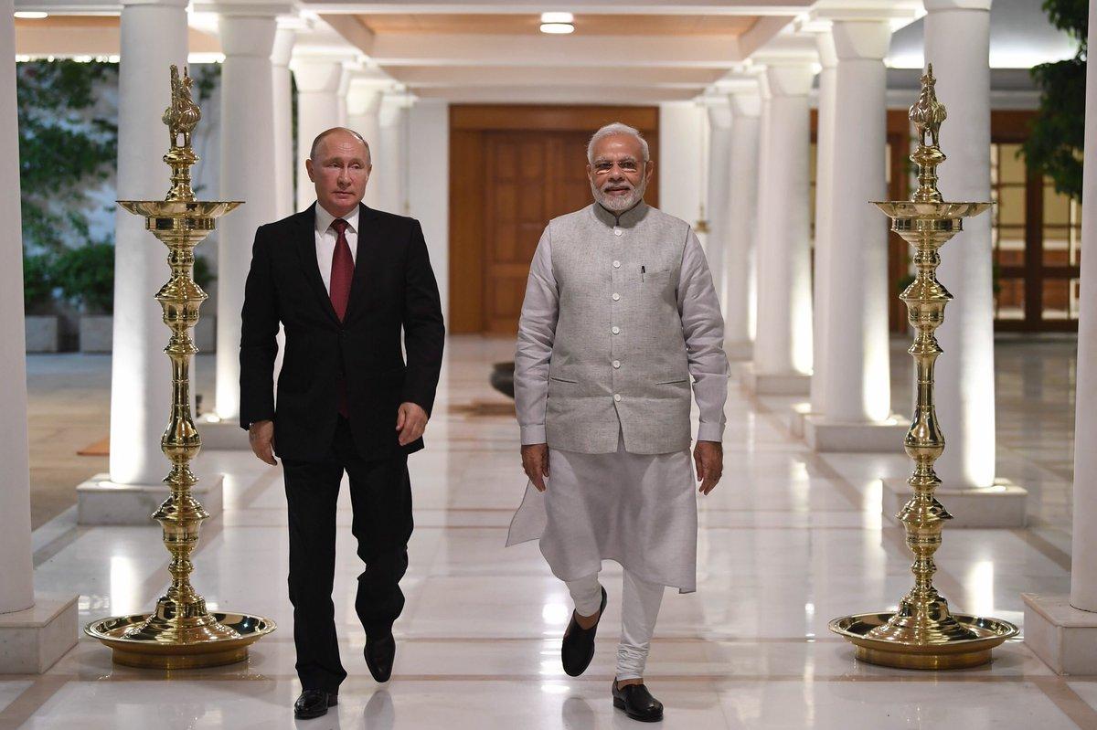 Tổng thống Nga công du Ấn Độ, nhiều hợp đồng lớn được ký kết