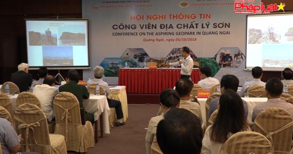 Năm 2019 trình UNESCO thẩm định, công nhận công viên địa chất toàn cầu Lý Sơn