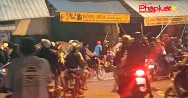 Gần 50 người ở Sài Gòn dàn trận chém nhau ở Sài Gòn