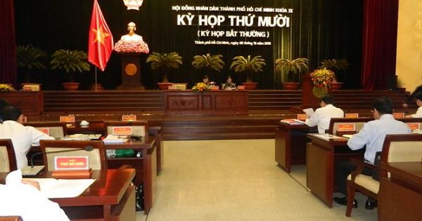 HĐND TPHCM họp bất thường xem xét nhiều vấn đề nóng