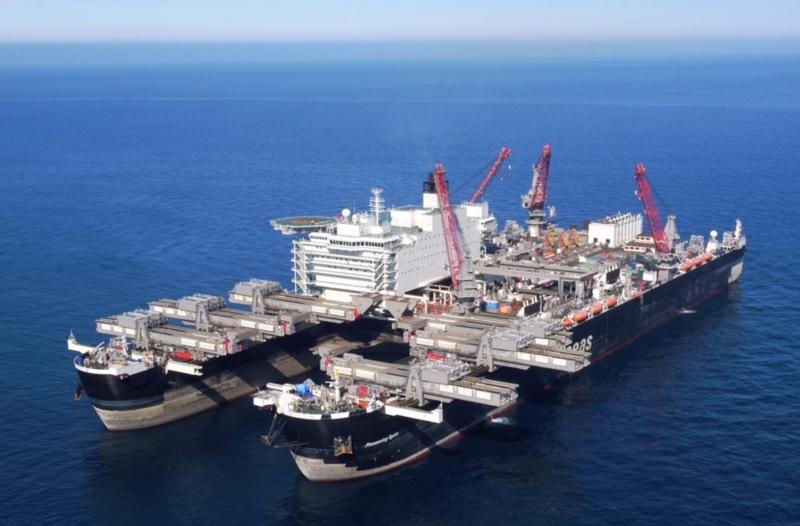 Dự án Dòng chảy phương Bắc 2 bắt đầu thi công trên lãnh hải Đức