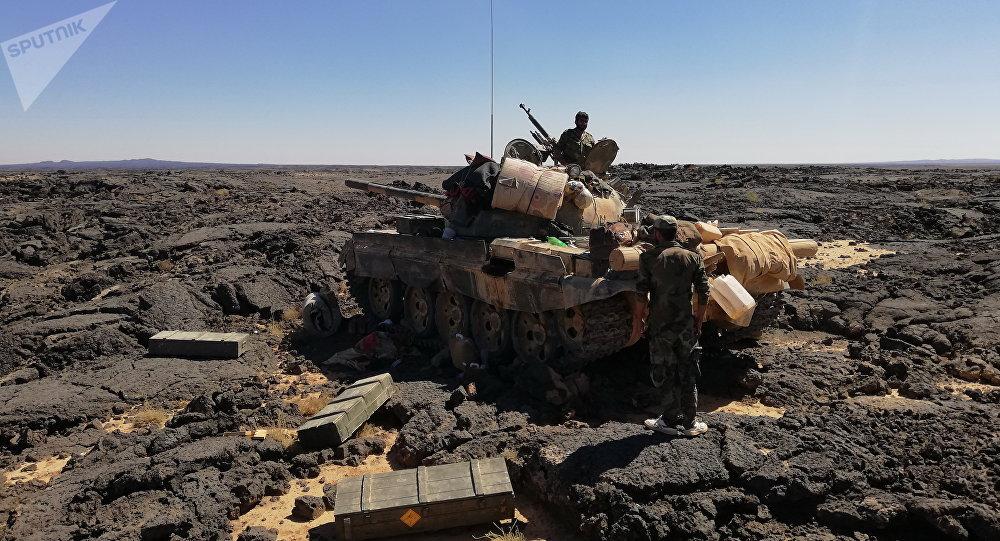 IS phục kích quân đội Syria tại Al-Sweida, nhiều binh sỹ thiệt mạng