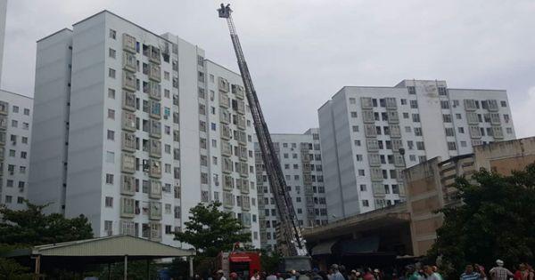 Đà Nẵng: Cháy do nổ gas tại chung cư 12 tầng, nhiều người hoảng sợ