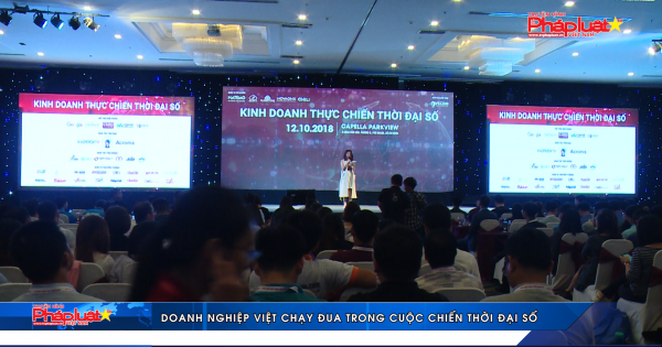 Doanh nghiệp Việt chạy đua trong cuộc chiến thời đại số