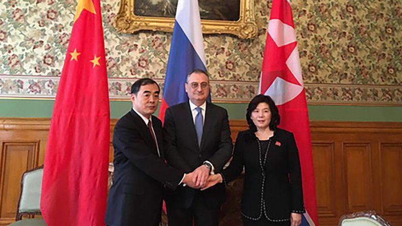 Nga - Trung - Triều nhất trí tiến tới đàm phán 5 bên
