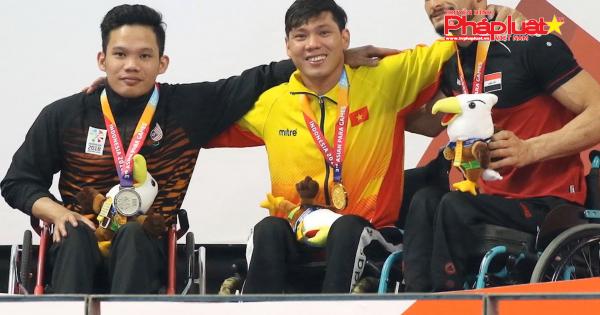 Asian Para Games 2018: Đoàn Việt Nam xuất sắc hoàn thành vượt chỉ tiêu thành tích