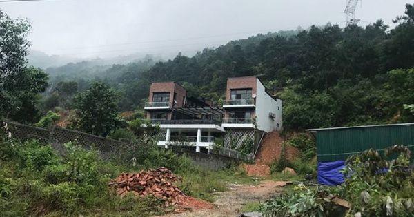 """Vụ """"xẻ thịt"""" đất rừng xây biệt thự ở Sóc Sơn: Thanh tra toàn diện"""