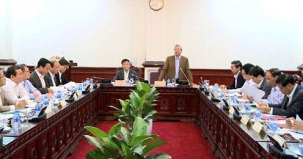 Ban Cán sự Đảng Bộ Tư pháp kiến nghị phong tỏa tài sản từ giai đoạn điều tra
