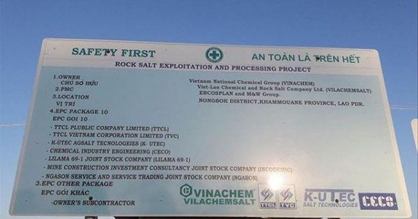 """Dự án nghìn tỷ """"đắp chiếu"""" của Vinachem: Nhà thầu ngoại tính khởi kiện"""