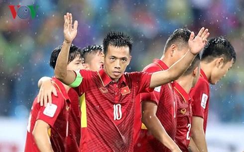 Văn Quyết là đội trưởng Đội tuyển Việt Nam ở AFF Cup 2018