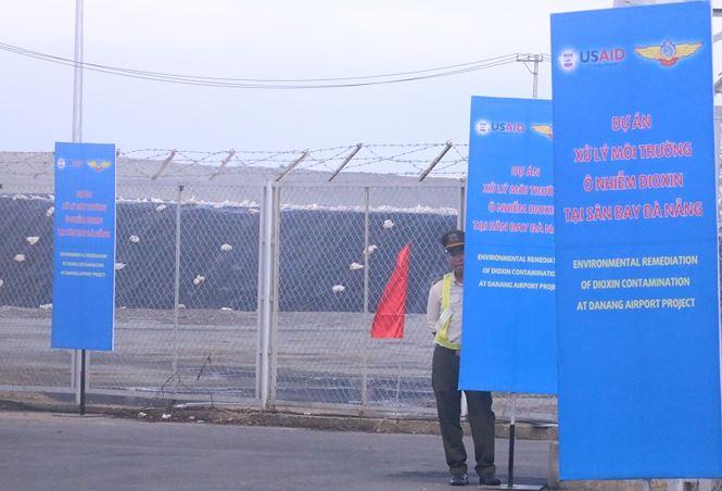 Bàn giao gần 14 ha đất sân bay Đà Nẵng đã xử lý nhiễm Dioxin