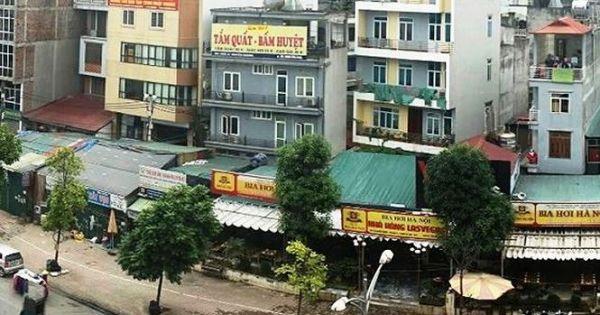 """Hà Nội """"bỏ quên"""" báo cáo về quy hoạch loạt ki ốt bám đường trăm tỷ"""