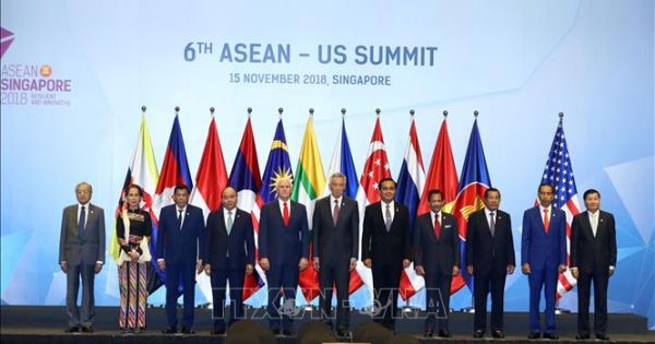 Thủ tướng Nguyễn Xuân Phúc dự Hội nghị Cấp cao ASEAN - Hoa Kỳ lần thứ 6