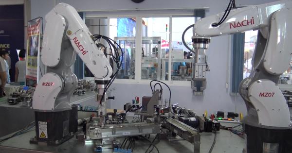 Tương tác giữa con người và robot trong ngành công nghiệp 4.0