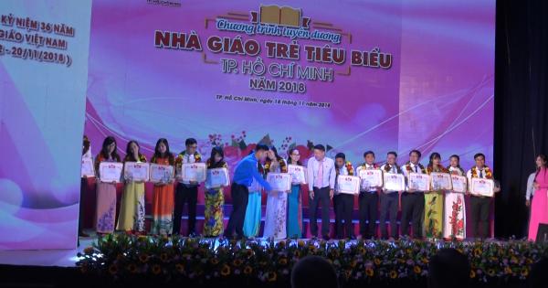 TP HCM tuyên dương 248 nhà giáo trẻ tiêu biểu năm 2018