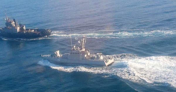 Đụng độ giữa hải quân Nga và Ukraine