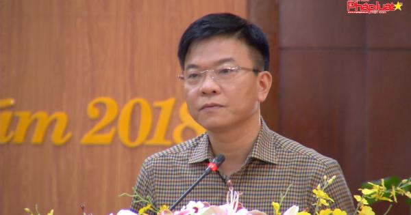 Bộ trưởng Bộ Tư Pháp Lê Thành Long tiếp xúc với cử tri huyện U Minh Thượng, Kiên Giang