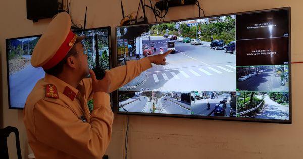 """CSGT Đà Lạt sử dụng camera an ninh xử lý """"nóng"""" vi phạm giao thông"""