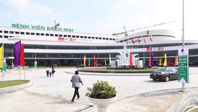 Khánh thành hơn một tháng, bệnh viện Bạch Mai và Việt Đức mới chưa hoạt động