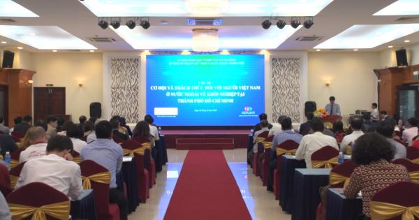 TPHCM khuyến khích doanh nhân kiều bào trẻ khởi nghiệp tại quê hương