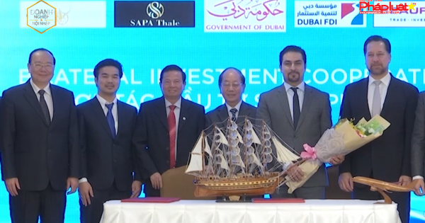 """Tập đoàn SAPA Thale và Dubai FDI ký kết """"Chương trình hợp tác đầu tư song phương"""""""