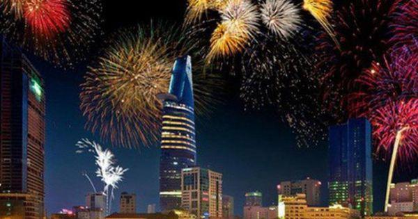 Chính phủ đồng ý cho UBND TP.HCM bắn pháo hoa dịp Tết Dương lịch