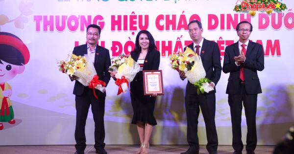 Cây Thị được công nhận thương hiệu Cháo dinh dưỡng lâu đời nhất Việt Nam