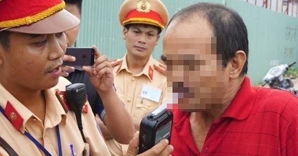 Cảnh sát Giao thông phạt hơn 27.000 tài xế vi phạm nồng độ cồn