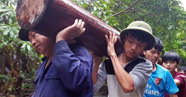 Tháo dỡ xong khu biệt thự của Giám đốc Công ty vàng ở Đà Nẵng