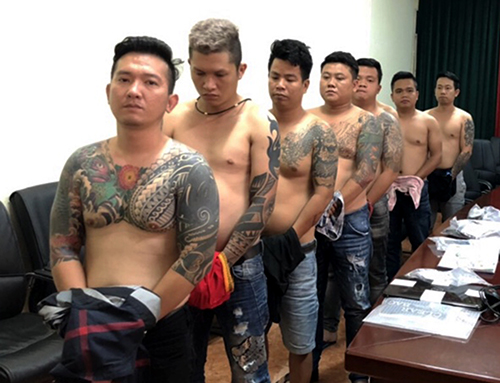 Bộ Công an vây bắt băng giang hồ Vũ Bông Hồng ở Sài Gòn