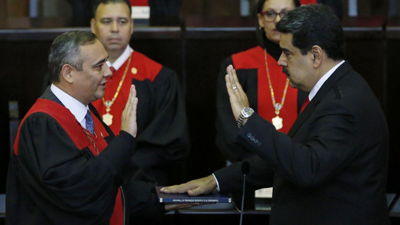 Tổng thống Venezuela Nicolas Maduro tuyên thệ nhậm chức nhiệm kỳ 2