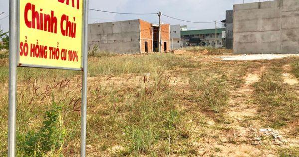 Bình Dương: Bát nháo mua bán đất nền