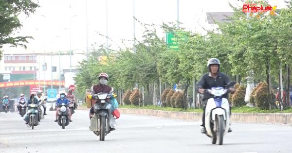 Công an TP.Quảng Ngãi kiểm soát trật tự an toàn giao thông Tết