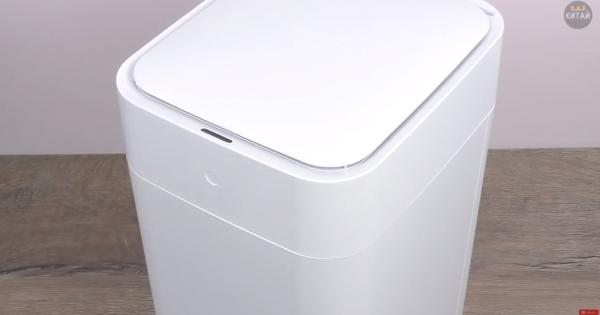 Thùng rác thông minh tự động mở nắp và đóng gói rác