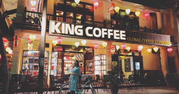 King Coffee tiếp tục khai trương quán mới tại phố cổ Hội An