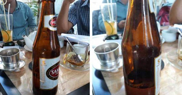 Hai sếp nước ngoài của Sabeco tới tòa vì chai bia chỉ có 1/4