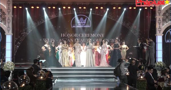 Đêm gala tổng kết và vinh danh WLIN- ASEAN BEAUTY QUEEN 2019.