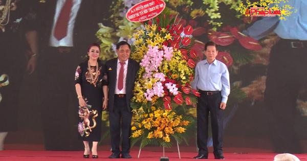 Nhà máy xử lý nước thải KCN Sóng Thần 2: Công trình tâm huyết của ông Huỳnh Uy Dũng
