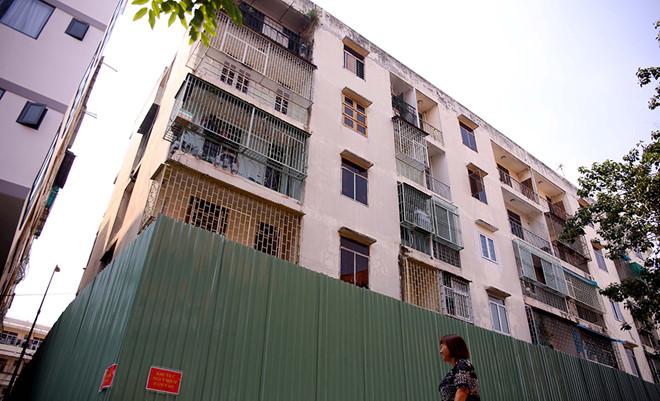 Chậm xử lý các chung cư cũ