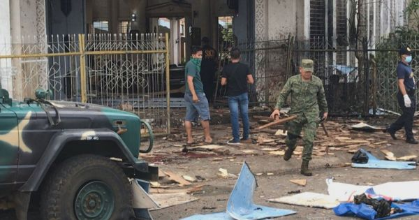 IS nhận trách nhiệm vụ đánh bom kép đẫm máu ở Philippines