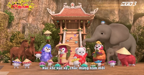 """Sống lại phong tục tết cổ truyền qua Badanamu MV """"xúc xắc xúc xẻ"""""""